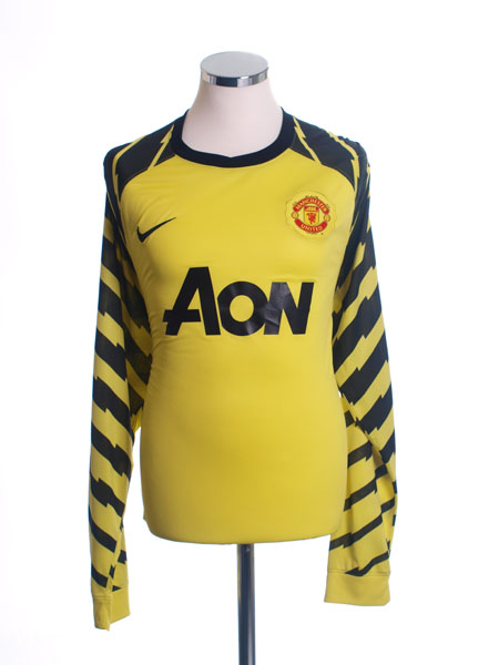 2010-11 Manchester United Goalkeeper Shirt XXL