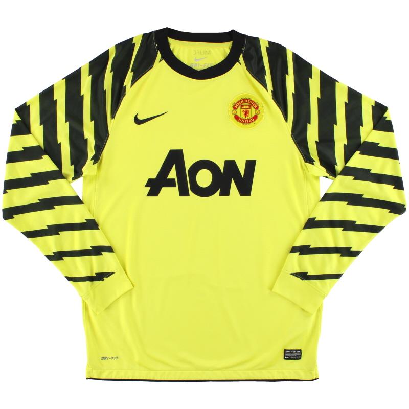 2010-11 Manchester United Goalkeeper Shirt L