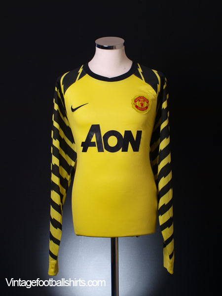 2010-11 Manchester United Goalkeeper Shirt XL
