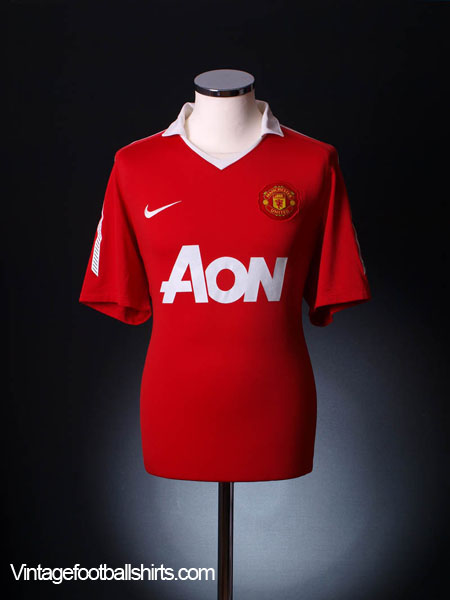 2010-11 Manchester United Home Shirt M