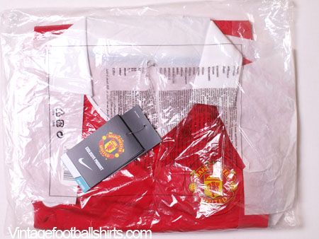40be83c37 2010-11 Manchester United Home Shirt  BNIB  for sale