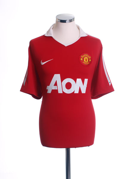 2010-11 Manchester United Home Shirt S - 382459 623