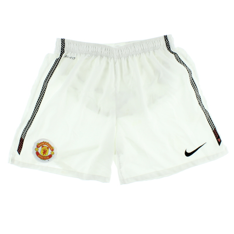 2010-11 Manchester United Home Shorts M - 382471-010