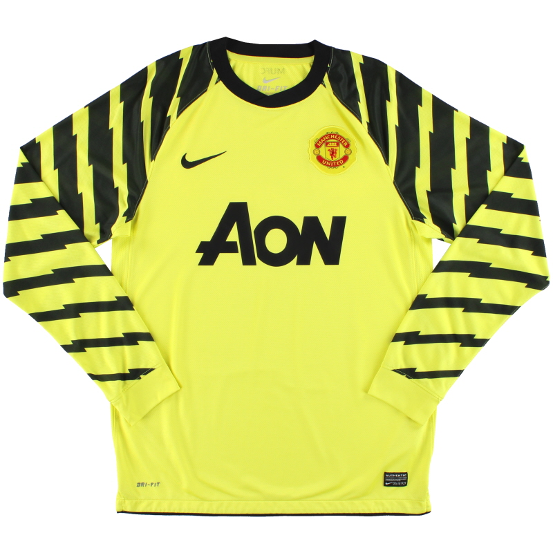 2010-11 Manchester United Nike Goalkeeper Shirt M - 382474-701