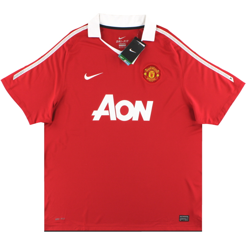 2010-11 Manchester United Nike Home Shirt *w/tags* XXL - 382469-623