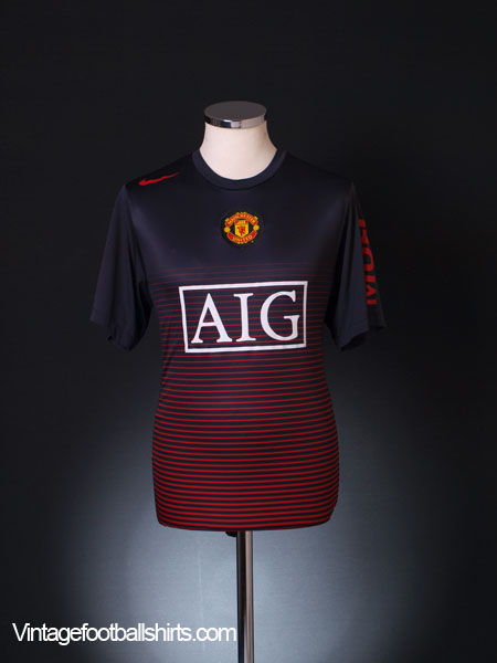 2010-11 Manchester United Training Shirt M
