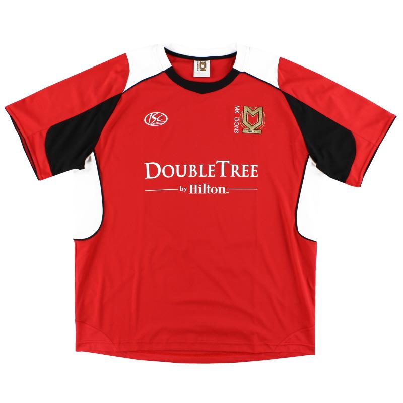 2010-11 MK Dons ISC Away Shirt XXL