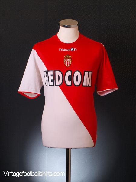 2010-11 Monaco Home Shirt L