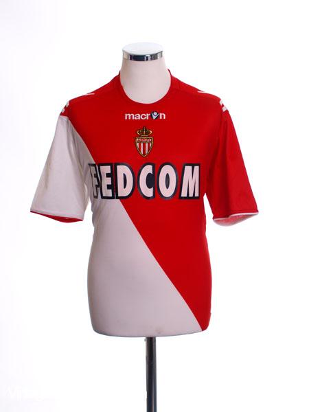 2010-11 Monaco Home Shirt M