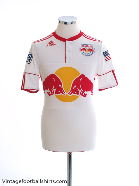 2010-11 New York Red Bulls Player Issue Home Shirt S