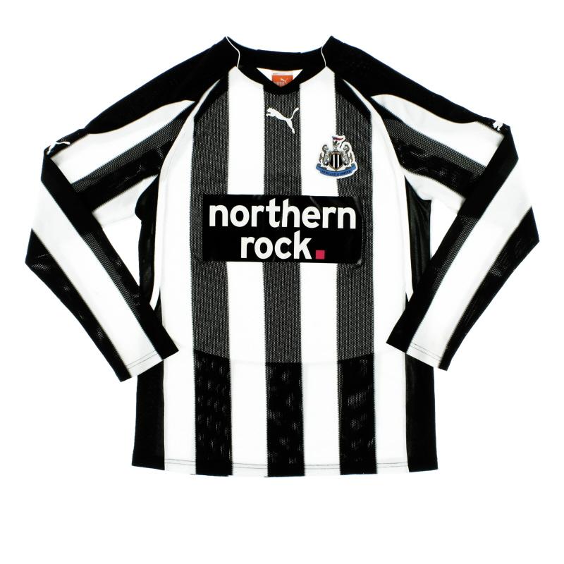 2010-11 Newcastle Puma Home Shirt L/S S