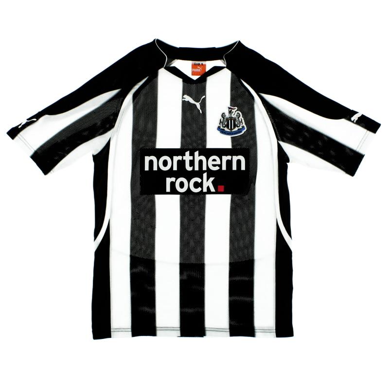 2010-11 Newcastle Home Shirt M
