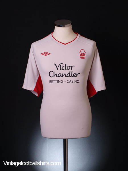 2010-11 Nottingham Forest Away Shirt XL