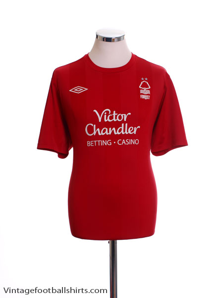 2010-11 Nottingham Forest Home Shirt L