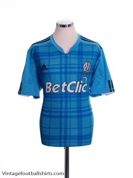 2010-11 Olympique Marseille Away Shirt L