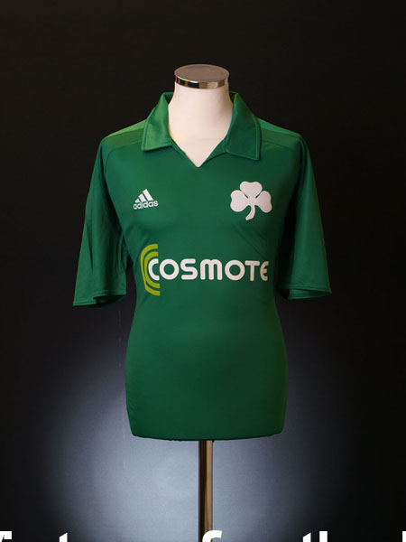 2010-11 Panathinaikos Home Shirt M