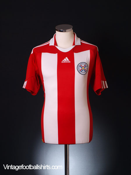 2010-11 Paraguay Home Shirt *Mint* S