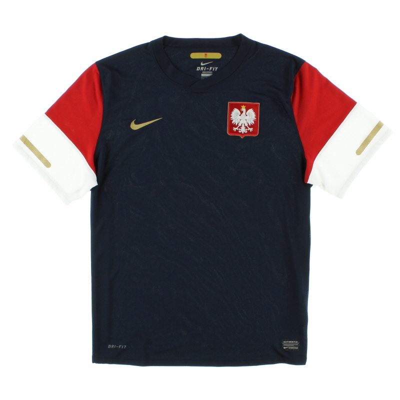 2010-11 Poland Away Shirt XL - 376889-451