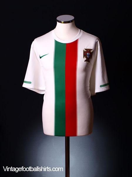 2010-11 Portugal Away Shirt XL
