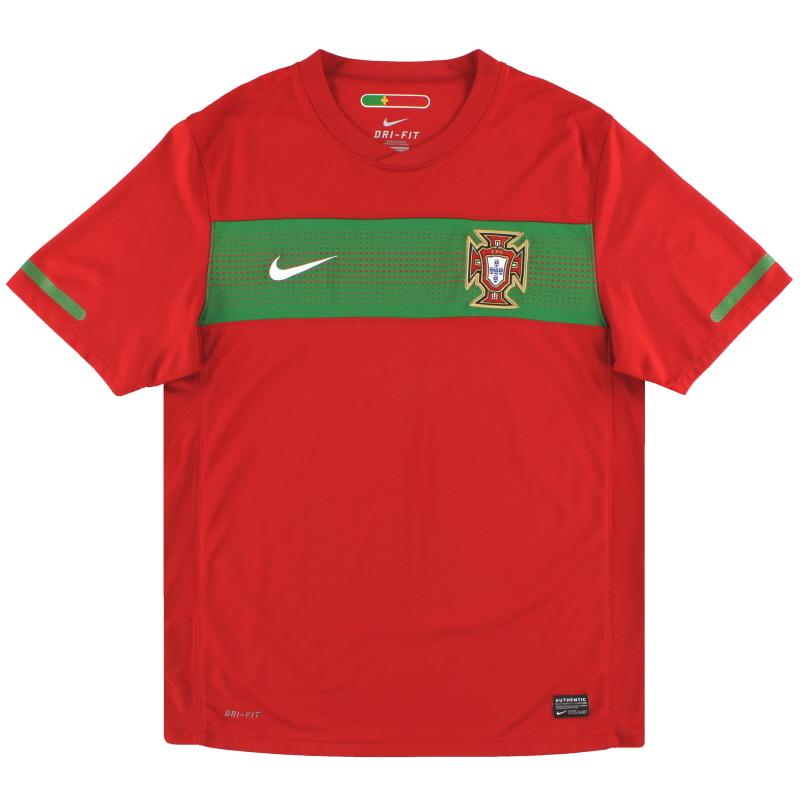 2010-11 Portugal Nike Home Shirt XL - 376894-611