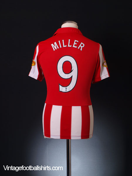 2010-11 Rangers Away Shirt Miller #9 S