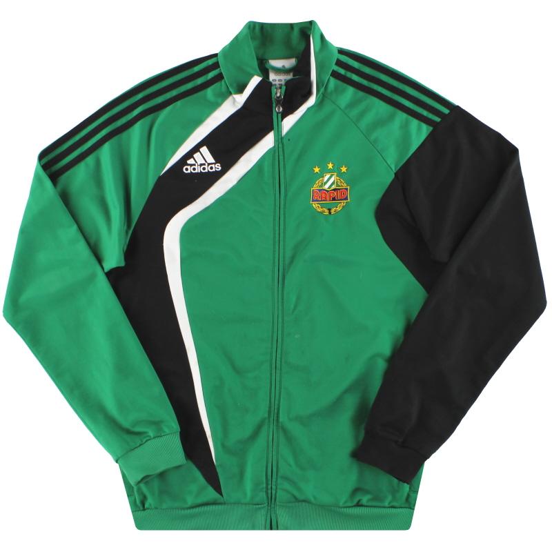 2010-11 Rapid Vienna adidas Track Jacket M - 168108