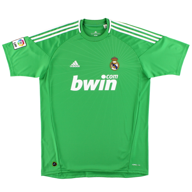 2010-11 Real Madrid adidas Goalkeeper Shirt *Mint* XL - P95797