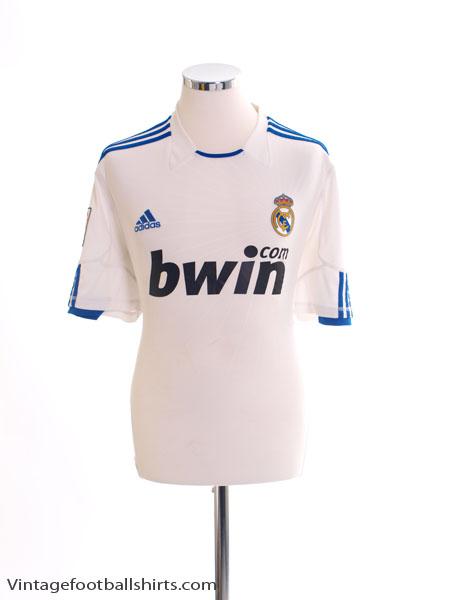 2010-11 Real Madrid Home Shirt M