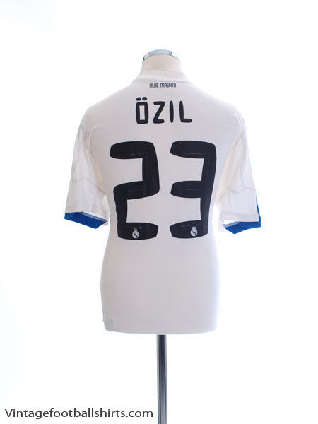 2010-11 Real Madrid Home Shirt Ozil #23 L - P96163