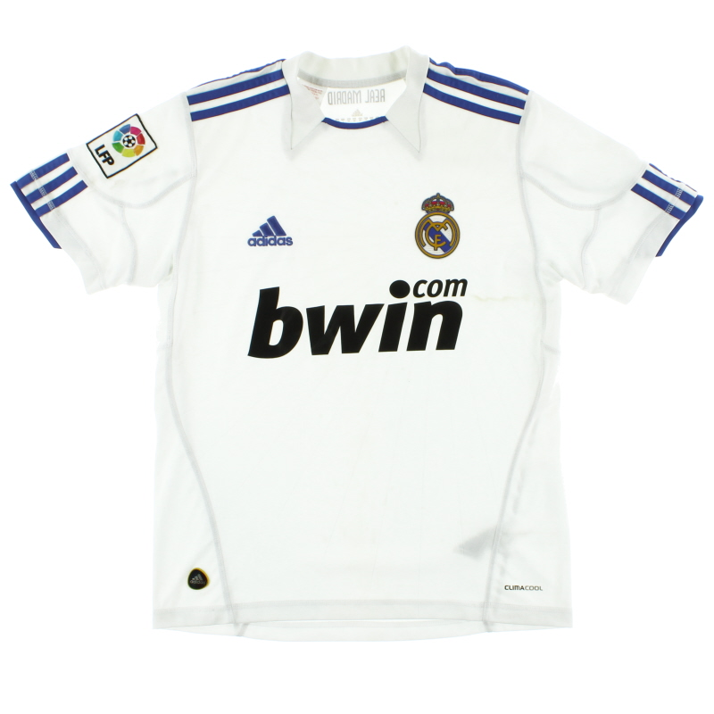 2010-11 Real Madrid Home Shirt Y - P96105