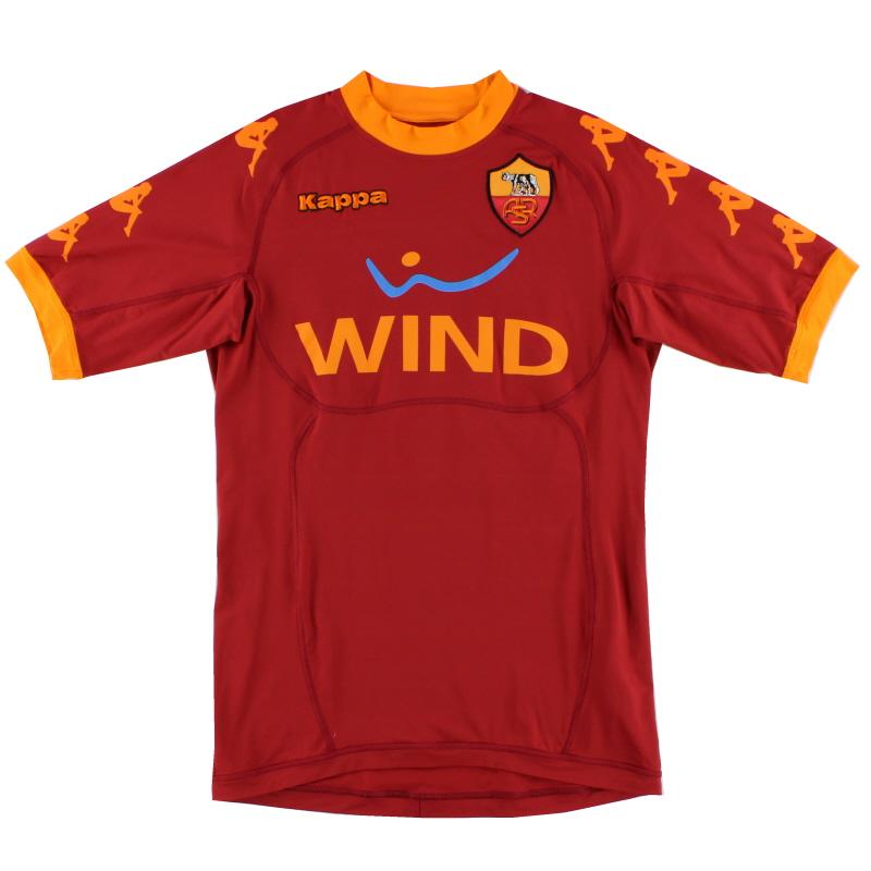 2010-11 Roma Home Shirt *Mint* M