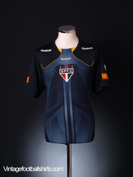2010-11 Sao Paulo Reebok Training Shirt #10 M