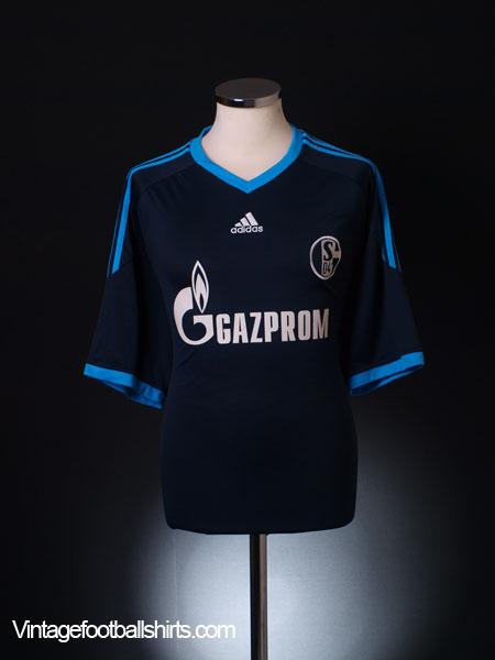 2010-11 Schalke Away Shirt  XL