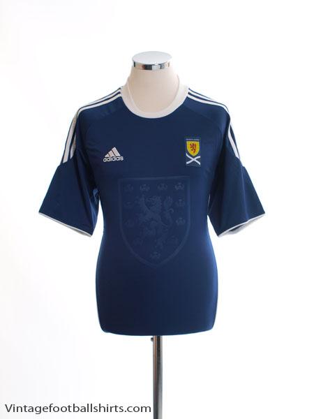 2010-11 Scotland Home Shirt *Mint* M