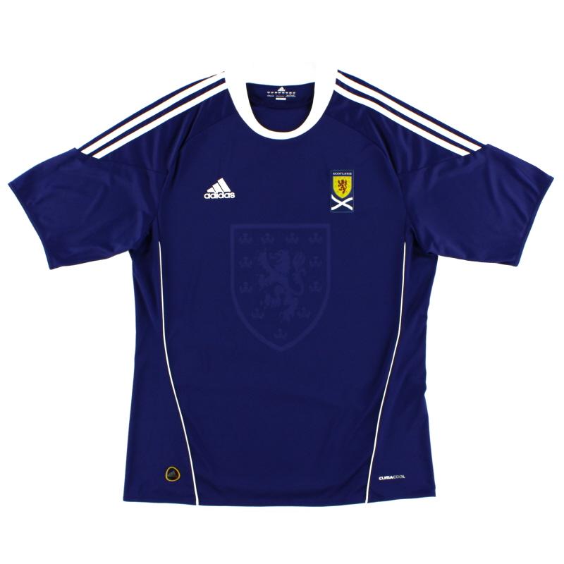 2010-11 Scotland Home Shirt *Mint* L - U40521