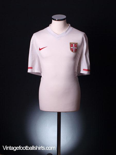 2010-11 Serbia Away Shirt *Mint* XL