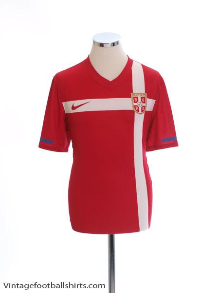 2010-11 Serbia Home Shirt M - 374540-614