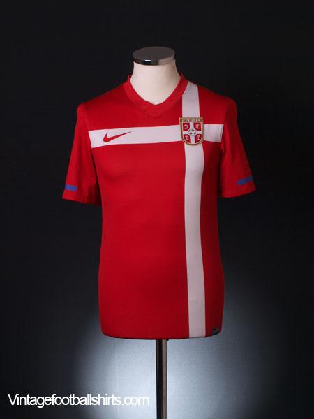 2010-11 Serbia Home Shirt S