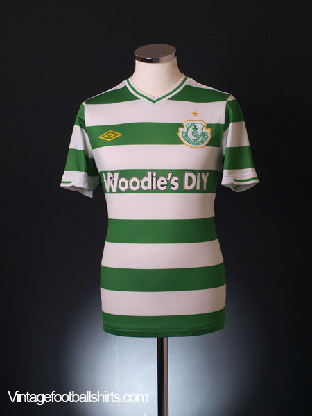 2010-11 Shamrock Rovers Home Shirt Y