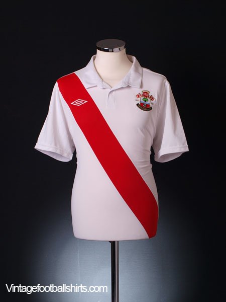 2010-11 Southampton '125 Years' Home Shirt S