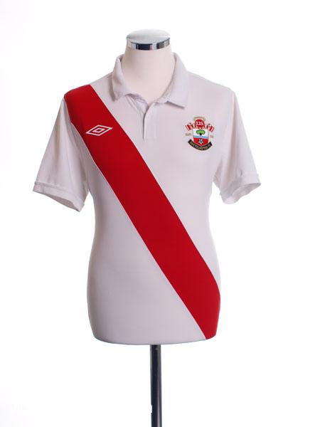 2010-11 Southampton '125 Years' Home Shirt XXL
