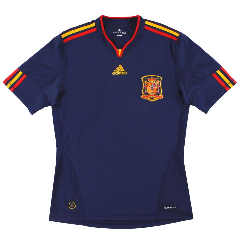 2010-11 Spain adidas Away Shirt S - P47896