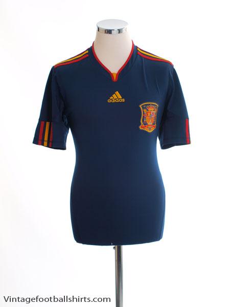 2010-11 Spain Away Shirt S