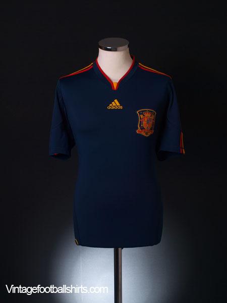 2010-11 Spain Away Shirt XL