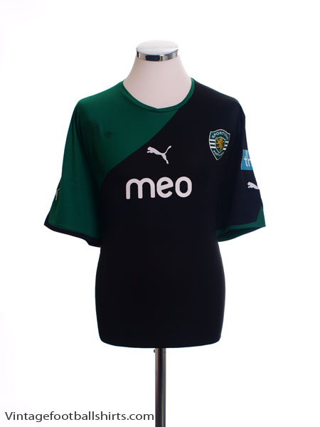 2010-11 Sporting Lisbon Away Shirt XXL