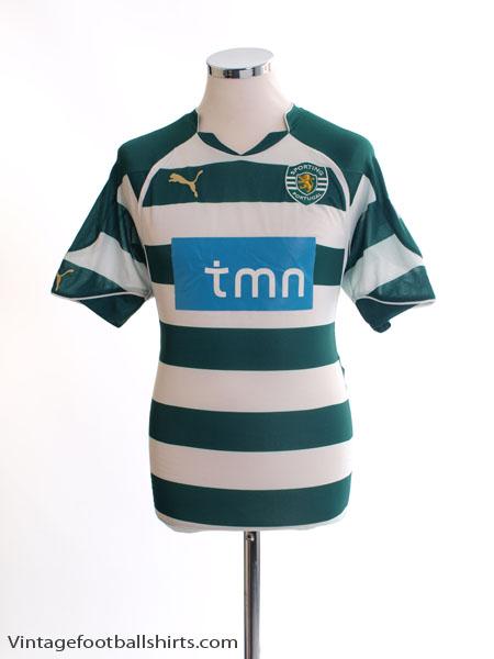 2010-11 Sporting Lisbon Home Shirt M