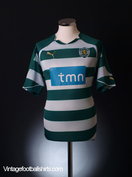 2010-11 Sporting Lisbon Home Shirt L