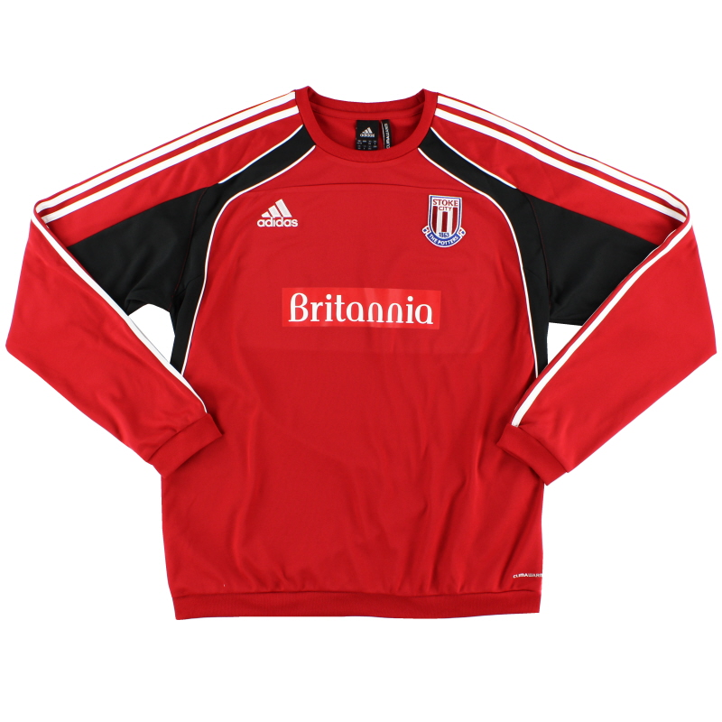 2010-11 Stoke City Training Jumper L/S XL