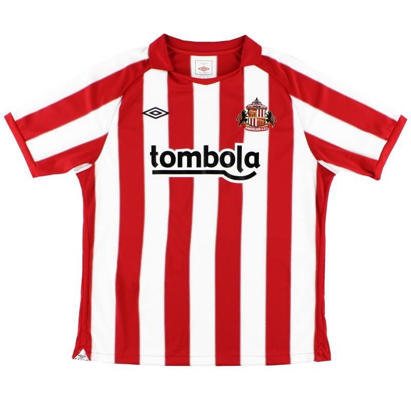 2010-11 Sunderland Home Shirt *Mint* XL