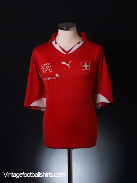 2010-11 Switzerland Home Shirt M
